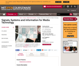"""Signals, Systems and Information for Media Technology, Fall 2007"""