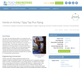 Tippy Tap Plus Piping