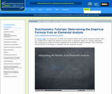 Finding Empirical Formula from an Elementary Analysis