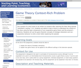 Game Theory Context-Rich Problem