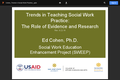 Trends in Social Work Practice