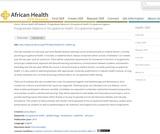 Postgraduate Diploma in Occupational Health: Occupational Hygiene