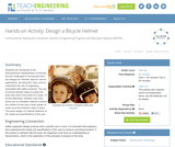 Design a Bicycle Helmet