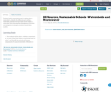RE Sources, Sustainable Schools -Watersheds and Stormwater