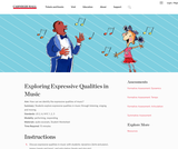 Exploring Expressive Qualities in Music