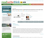Audio Listening Practices: Exploring Personal Experiences with Audio Texts