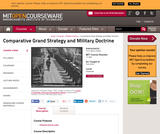Comparative Grand Strategy and Military Doctrine, Fall 2004
