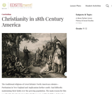 Christianity in 18th Century America
