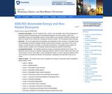 Sustainability and Non-Market Enterprise