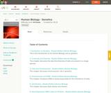 Human Biology - Genetics (Student's Edition)