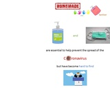 How make an homemade handrub sanitizer