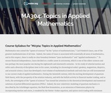 Topics in Applied Mathematics
