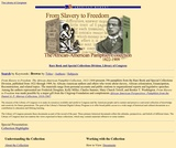 From Slavery to Freedom, 1824-1909