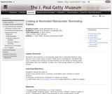 Looking at Illuminated Manuscripts: Illuminating Fables