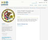 4.OA.4 PARCC Examples and Additional Sample Tasks