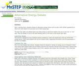 Alternative Energy Debate