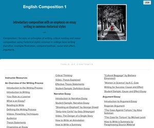 english composition 1 narrative essay Engl115005: english composition i spring semester 2004 12:30-1:45pm tuesday and thursday experiment with voice in narrative essay 2/12 (th.