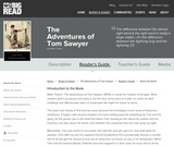 The Adventures of Tom Sawyer by Mark Twain - Reader's Guide