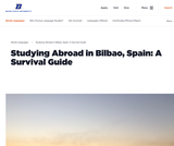 Studying Abroad in Bilbao, Spain: A Survival Guide