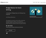 Budget Basics for Grant Writing
