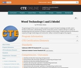 Wood Technology 1 and 2 Model