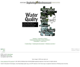 Exploring the Environment: Water Quality