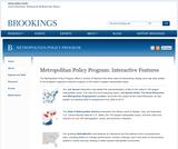 Metropolitan Policy Program: Interactive Features