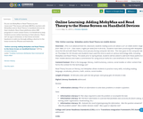 Online Learning: Adding MobyMax and Read Theory to the Home Screen on Handheld Devices