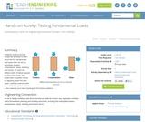 Testing Fundamental Loads