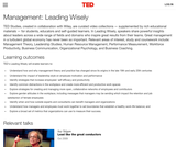 Management: Leading Wisely