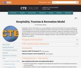 Hospitality, Tourism & Recreation Model