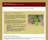 Data Analysis and Probability Games