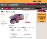 Differential Geometry, Fall 2008