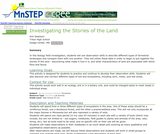Investigating the Stories of the Land