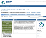 Human-Environment Interactions in India