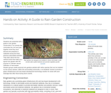 A Guide to Rain Garden Construction