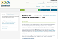 How to Use the OER Commons LTI Tool