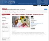 Social and Economic Aspects of Human Fertility