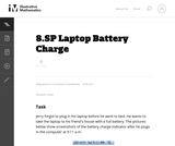 8.SP Laptop Battery Charge
