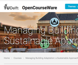 Managing Building Adaptation: a Sustainable Approach