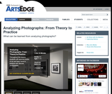 Analyzing Photographs: From Theory to Practice