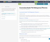 Curriculum Guide: The Pythagorean Theorem