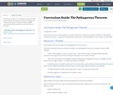 Curriculum Guide: The Pythagorean Theorem