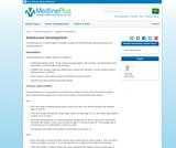 Adolescent development: MedlinePlus Medical Encyclopedia