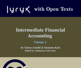 Intermediate Financial Accounting Volume 1
