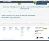 Business Intelligence Integration Services Project: Creation and Deployment