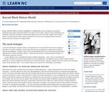 Beyond Black History Month
