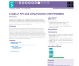 CS Principles 2019-2020 3.7: APIs and Using Functions with Parameters