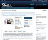Communicating Forecast Uncertainty