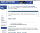 JiTT in Introduction to Demand Analysis